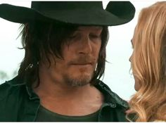 Norman Reedus and Diane Kruger in SKY