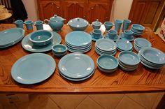 Turquoise Vintage Fiestaware