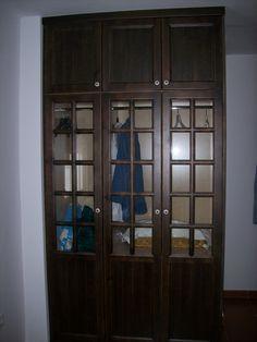 armario con cristales
