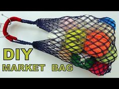 Most of the most popular bags do not meet a certain aesthetics this season. Macrame Bag, Macrame Knots, Cute Crafts, Diy And Crafts, Net Shopping, Diy Sac, Diy Bebe, Net Bag, Hand Embroidery Stitches