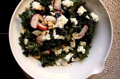 "Kale cherry and cashew salad from Joy the Baker - Eat Your Books is an indexing website that helps you find & organize your recipes. Click the ""View Complete Recipe"" link for the original recipe."