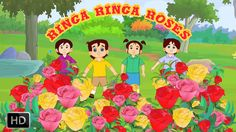 Ringa Ringa Roses – Nursery Rhymes Song with Lyrics