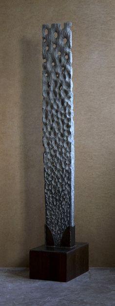 Ajour 2009, Belgisch hardsteen en staal (150x20x8) €7500