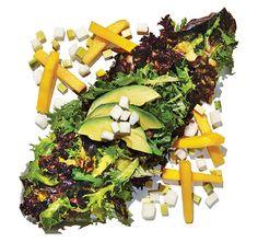 Avocado And Mango Salad With Passion Fruit Vinaigrette Recipe ...