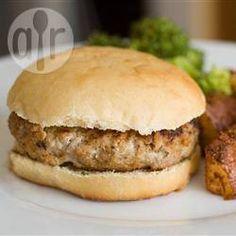 Feta and Olive Turkey Burgers @ allrecipes.co.uk