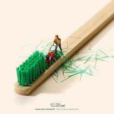 "Best of ""Miniature Calendar"" – wunderbare Miniaturwelt ganz groß"