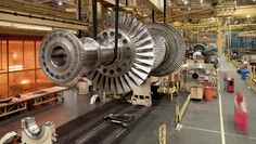 The Story Behind General Electric's Mission As An Industrial Giant Gas Turbine, Oil Industry, Jet Engine, General Electric, Infographic, Engineering, Management, Cutaway, Workshop