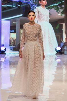 suknia ślubna długa cała z koronki - gabrielahezner - Suknie ślubne