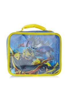Boys Lunch Boxes - Transformers Blue Lunch Box