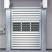 Rytec Doors  Spiral® High-speed rigid rolling door for high security, high traffic and high design.