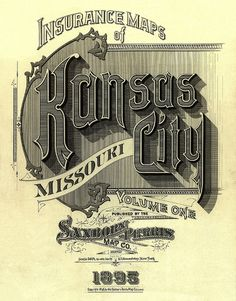 Insurance Maps of Kansas City 1895