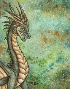 Aquatic Dragon by Jungle-Fire on deviantART