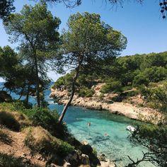 Mallorca // Cala Cap Falco Beach - 20 min driving from Melia del Mar