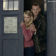 Everybody loves David Tennant, and Matt Smith. I haven't seen David Tennant and on accident I saw a few episodes of Matt Smith, but I prefer Christopher Eccleston... BY FAR!