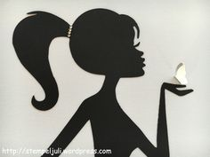 Frau Silhouette Ballerina Silhouette Silhouette Cameo Fairy Jars Crafts To Sell Diy Crafts Paper Crafts Arts And Crafts Vegetable Crafts Princess Silhouette, Girl Silhouette, Silhouette Cake, Butterfly Wall Decor, Butterfly Wall Stickers, Diy Quilling Crafts, Vegetable Crafts, Cake Design Inspiration, Paper Art