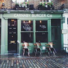 Carnaby Burger Co  4 Newburgh St, London W1F 7RF, United Kingdom