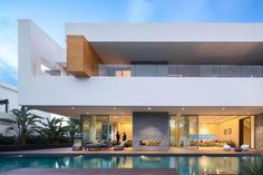 Villa C a modern private house in a luxury suburb of Rabat Morocco - CAANdesign | Architecture and home design blog