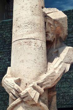 Sagrada Família - Antoni Gaudí (a detail of Josep Maria Subirachs i Sitjar) Barcelona