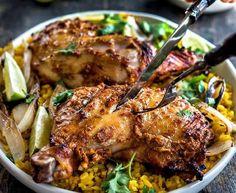 tandoori-style roasted chicken