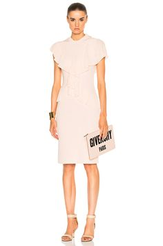 Shop for Givenchy Pleated Dress in Skin at FWRD. Free 2 day shipping and returns.