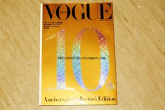 Image result for anniversary issue vogue