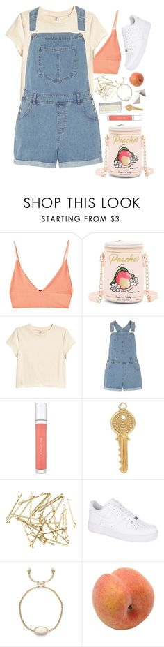 """""""14. She reminds me of sadder times"""" by sharkgirlfriend on Polyvore featuring For Love & Lemons, Betsey Johnson, Dorothy Perkins, shu uemura, Annina Vogel, H&M, NIKE, Pavilion Broadway and Bobbi Brown Cosmetics"""