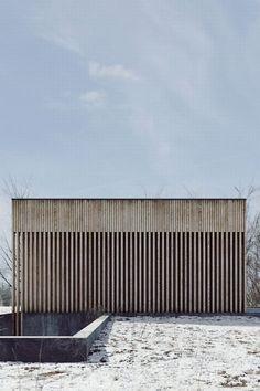 Light Soil - Beton, Holz und Glas in Polen / Architektur Timber Architecture, Minimalist Architecture, Contemporary Architecture, Architecture Details, Architecture Artists, Minimalist Landscape, Architecture Images, Architecture Portfolio, Landscape Architecture