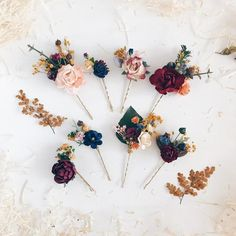 Excited to share this item from my shop: Fall Bobby pins Maroon flower bobby pins Burgundy Set of 8 Fall Burnt burgundy flower headpiece Winter deep red hair pins Fall wedding Flower Headpiece, Wedding Hair Flowers, Bridal Flowers, Flowers In Hair, Fall Wedding Hair, Wedding Hair Clips, Bridal Hair Pins, Rustic Wedding Hairstyles, Burgundy Flowers