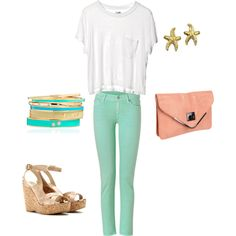 sea foam, created by ashbiller on Polyvore