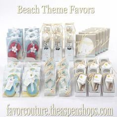 Looking for beach favors for your next event.  Favor Couture has a large selection of Beach Favors #wedding Summer Favor Ideas