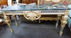 Marva's Place Used Furniture & Consignment Store | Luxury Classic Italian Colombo Giulio, Mobili d'Arte e Salotti Dining Set