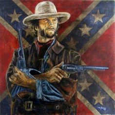 Outlaw Josey Wales (artist unknown)