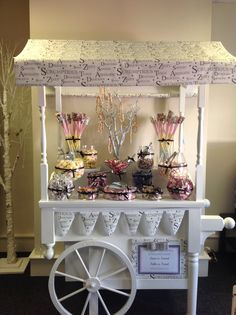 Sweets and treats, our candy cart by Tayler James flowers x