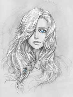 bleistiftzeichnung Essi Daven by NastyaSkaya on Pencil Art Drawings, Art Drawings Sketches, Witcher Art, Sketch Art, Portrait Art, Face Art, Manga Art, Art Tutorials, Art Girl