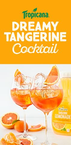 Keep happy hour happy with the Dreamy Tangerine cocktail. Grab the recipe now.