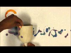 Crock A Doodle Pottery Painting Technique:  Rolling www.crockadoodle.com