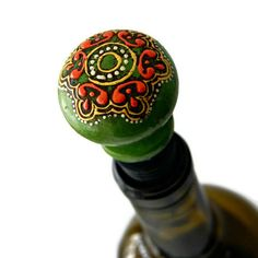 Unique Wine Stopper by BiscottiDesigns on Etsy, $16.00