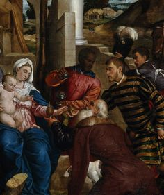 Jacopo Bassano The Adoration of the Magi (detail) Italy (c. 1540s) Oil on Canvas, 235 x 183 cm. Scottish National Gallery