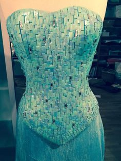 So I decied to do a full step by step tutorial on my Elsa corset. I will list all the materials I ...