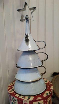 My vintage funnel tree!