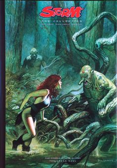 Storm The Collection Part The People of the Plains / The Green Hell (Limited Edition) Comic Book Artists, Comic Artist, Comic Art Girls, Sword And Sorcery, Science Fiction Art, Fantasy Illustration, Sci Fi Movies, Artist Gallery, Pulp Art