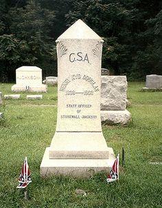 Shepherdstown, WV     Henry KYD Douglas  1838-1903  Staff Officer of Stonewall Jackson
