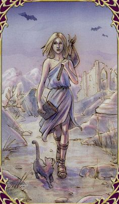 The Fool - Sensual Wicca Tarot