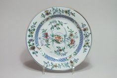 """Chine, Assiette aux émaux """"Doucai"""" - Époque YONGZHENG (1723-1735)"""