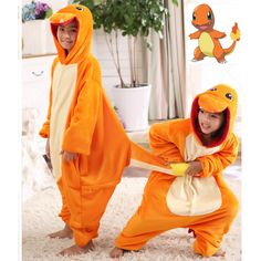 >> Click to Buy << Pokemon Charmander Cosplay Jumpsuit Costume Kids Clothing Flannel baby Blanket Sleeper Boy Girl Piece pajamas Halloween Carnival #Affiliate