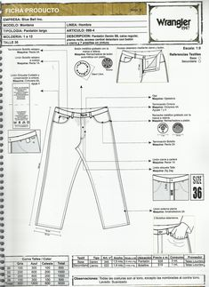 Flat Drawings, Flat Sketches, Fashion Design Template, Fashion Design Sketches, Clothing Patterns, Sewing Patterns, Jeans Drawing, Fashion Terminology, Patterned Jeans