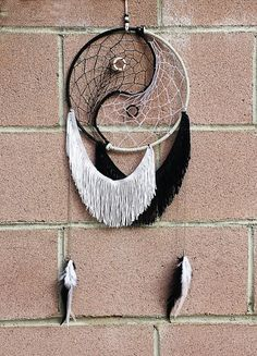 Yin And yang dreamcatcher