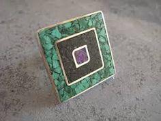 Resultado de imagen para anillos reconstituidos Jewerly, Metal, Silver, Spoon, Enamel, Enamels, Copper, Stone Rings, Silver Rings