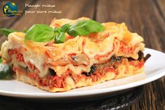 Fresh Vegetable Lasagna Recipe: This takes a while to prepare due to all the fresh veggies that must be chopped, but the flavor is worth the effort -- and fewer than 400 calories per LARGE serving. Italian Dishes, Italian Recipes, Fresh Vegetables, Veggies, Vegetable Lasagna Recipes, Zucchini, Slow Cooker Lasagna, Cheese Lasagna, Mushroom Lasagna