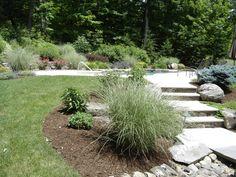 Fiberglass Pools, Outdoor Living Areas, Plant Design, Walkway, Stepping Stones, Landscape Design, Pergola, Construction, Outdoor Decor